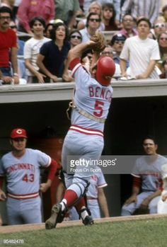 CIRCA Catcher Johnny Bench of the Cincinnati Reds in action catches a foul popup during a MLB baseball game circa Bench Played for the. Baseball Wall, Baseball Photos, Baseball Games, Famous Baseball Players, Johnny Bench, Cincinnati Reds Baseball, National League, Major League, Legends