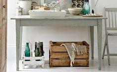Caixotes de madeira na decoração - Dicas de Mulher