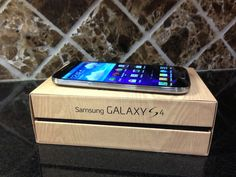 Samsung Galaxy S4 de AT Unboxing ~ SpanglishReview