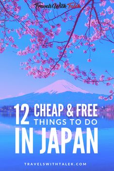 Check out this list of cheap and free things to do in Japan if you're planning to travel to this beautiful (but expensive) country. What are the best things to do in Japan on a budget? Learn the best things to do in Japan on a budget and have an amazing e Cool Places To Visit, Places To Travel, Travel Destinations, Places To Go, Travel Deals, Travel Guides, Japan Travel Guide, Asia Travel, Travel Packing