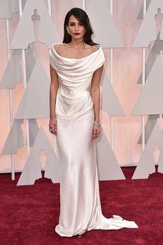 Genesis Rodriguez at the 2015 Oscars