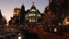 Фото Ночное движение в городе