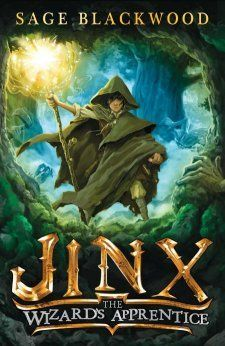 Jinx: The Wizard's Apprentice. It's not every day that your evil stepdad abandons you in the deep, dark forest of Urwald. And it's not every day that a wizard rescues you from the clutches of gnarly trolls. But for Jinx, this isn't turning out to be a very normal sort of day... (Promising series. I'd say it's similar to 'Septimus Heap' but a little less intensive)