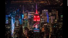 "An image of Donald Trump is projected on the Empire State Building in New York during the early hours of Wednesday, November 9, after Trump became President-elect of the United States. <a href=""http://www.cnn.com/2016/11/03/world/gallery/week-in-photos-1104/index.html"" target=""_blank"">See last week in 30 photos</a>"