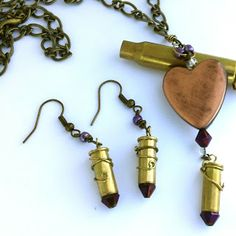 Art Play Today: More Recycled Brass Bullet Casing Pendants