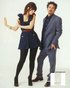 Zooey Deschanel and M. Ward, a.k.a. She and Him