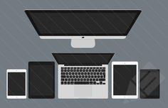 Medialoot - Flat Hero Header Kit - Designer Essentials