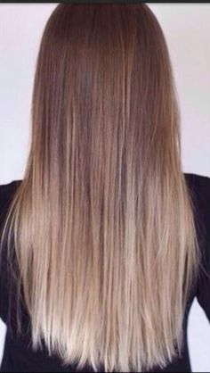 Balayage I love how smooth this blends