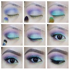 colorful makeup tutorial! check out my sleek makeup candy palette tutorial