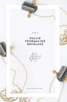 Elegant poster design for a jewelry brand