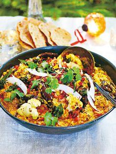 Jamie's Veggie Curry