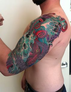 20 Ridiculous Sleeve Tattoos To Be Inspired By