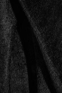 Balenciaga - Cutout Chenille Sweater - Black - FR