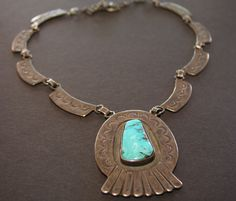 Antique Navajo necklace