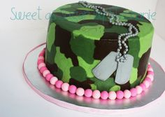 baby shower cake hunting | Sweet as Sugar by Stephanie: camo cake, baby shower, and birthdays