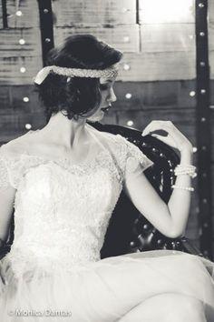 Noivas vintage e boho chic: editorial anos 20 para fazer sonhar! Image: 2