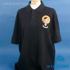 MacTavish Clan Crest Polo Shirt. Free worldwide shipping available