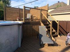 Deck With Pergola, Patio Roof, Pergola Patio, Rooftop Patio, Covered Pergola, Pool Deck Plans, Pergola Plans, Pergola Ideas, Pergola Designs