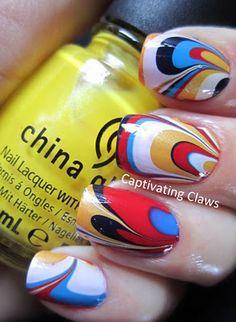 Dr.'s Remedy NOBLE Navy, China Glaze Sunshine POP, OPI Alpine  Snow, China Glaze  Hey Sailor, and Sally Hansen Blue Me Away!