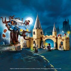 LEGO 75953 Harry Potter Hogwarts Whomping Willow Toy, Wizarding World Fan Gift, Various Lego Harry Potter, Harry Potter Hogwarts, Ravenclaw, Ford Anglia, How Do You Find, Lego Instructions, Lego Building, Lego Sets, Lego Star Wars