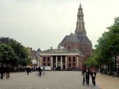 Vismarkt (fish market square) in Groningen