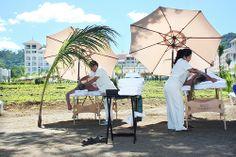 Massage on the beach - Matapalo, Guanacaste - Riu Palace Costa Rica