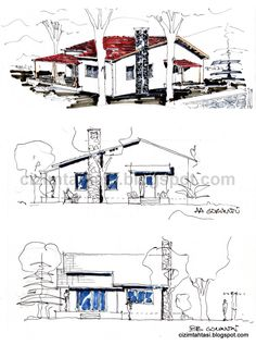 Architecture Drawings, Landscape Architecture, Architecture Design, Case Studio, Perspective Drawing Lessons, Drawing Sketches, Sketching, Drawing People, Autocad