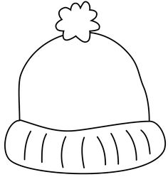 crafts with my daughters gloves and hats for winter - Winter Hat Coloring Pages
