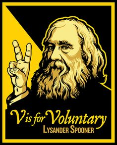 The great abolitionist and philosopher of peace, Lysander Spooner