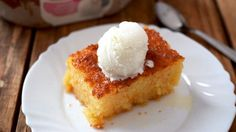 Portokalopita recipe (Greek Orange Cake)