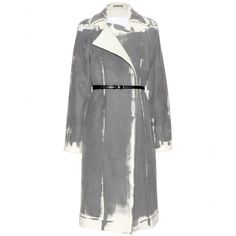 Bottega Veneta - Cappotto a stampa in lana e cashmere -  seen @ www.mytheresa.com