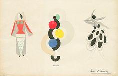 Sonia Delaunay fashion illustration