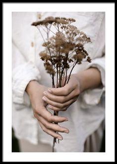 Photo Pop Art, Bel Art, White Linen Shirt, Nature Posters, Holding Flowers, Autumn Nature, Inspirational Wall Art, Inspiration Wall, Modern Art Prints