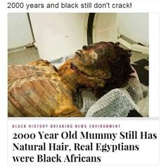 2000 year old Egypt mummy kemet Black Excellence Ourstory Egypt Mummy, Black History Facts, Strange History, African American History, British History, Ancient History, Ancient Egypt, Tudor History, World History