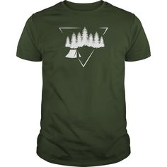 (New Tshirt Design) Triangle Forest Wild Camping T Shirt at Tshirt United States Hoodies, Tee Shirts