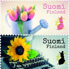 Postage Stamps, Finland, History, Historia, Stamps
