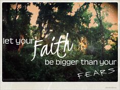 Faith...a mustard seeds worth is a small amount.