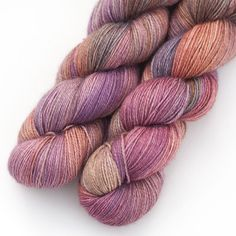 """Wanton Fibers : Coquette Yarn : Baby Soft & Silken with a Soft Halo : Luscious Hats, Shawls, Scarves and Sweaters  70% Baby Alpaca : 20% SIlk : 10% Cashmere 3 ply Fingering weight 437 yds / 400 m 3.5 oz / 100 g  Gauge: 27-32 sts per 4"""" on US needle 1-3 Hand wash with wool wash (Eucalan, K..."""