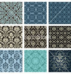 Backgrounds vector - by roverto on VectorStock®