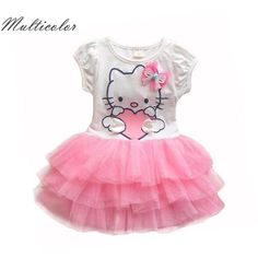 Awesome Hello Kitty Girls Dresses Summer 2017 Cartoon Wings Tutu Dress For Girls Kids Princess Dresses Girls Clothes Robe Enfant Cloth - $17.46 - Buy it Now! Check more at http://kidshopglobal.com/kids-and-baby-shop-online/childrens-clothing/girls-clothing/girls-dresses/hello-kitty-girls-dresses-summer-2017-cartoon-wings-tutu-dress-for-girls-kids-princess-dresses-girls-clothes-robe-enfant-cloth/