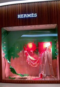 Hermès Central Embassy   Window Display @ Bangkok, Thailand
