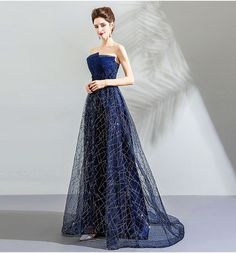 62cc78c7c767e Buy Angel Bridal Strapless Embroidered A-Line Evening Gown