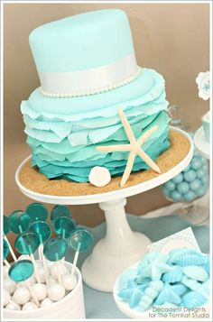 Tiffany Inspired Beach Theme? :)
