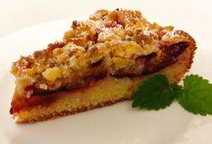 Najlepší slivkový koláč s orechovou posýpkou (v tortovej forme). French Toast, Breakfast, Food, Morning Coffee, Meals, Yemek, Morning Breakfast, Eten