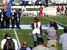 Le'Andria Johnson sings National Anthem @ JSU Homecoming 10.20.12