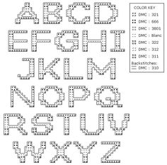 Robin's Nest Designs: Patriotic alphabet cross stitch