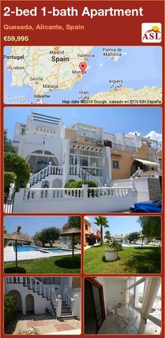 2-bed 1-bath Apartment in Quesada, Alicante, Spain ►€59,995 #PropertyForSaleInSpain