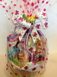 Special hawaiian gift basket for military clients hawaiian gift we create gift baskets for all ages and all occasions this gift basket is great for a special birthday girl or as a easter basket negle Image collections