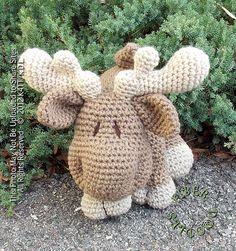 Ravelry: KISS Series - Moose pattern.. Cute! @Pat Wells