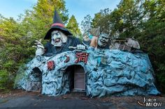 Abandoned amusement parks like Nara Dreamland and Six Flags New Orleans are among the world's creepiest derelict places, rusting away, eerily devoid of life